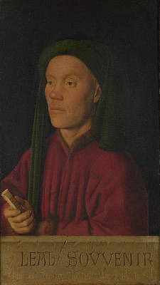 Photograph - Portrait Of A Man Leal Souvenir by Jan van Eyck