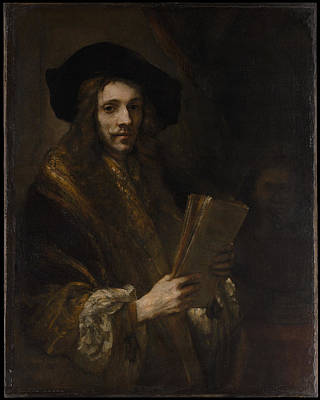 Portrait Of A Man The Auctioneer Original by Follower of Rembrandt