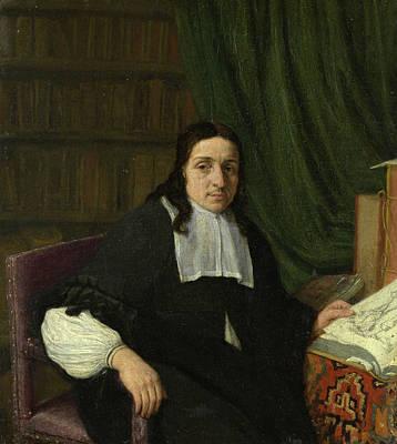 Table Painting - Portrait Of A Scholar by Adriaen van Ostade