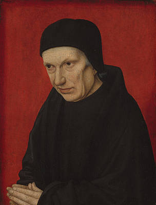 Painting - Portrait Of An Ecclesiastic by French 15th Century