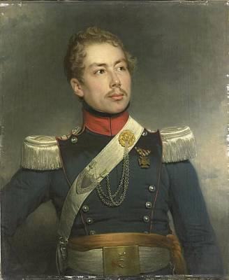 Portrait Of Christian Edouard Fraser Art Print