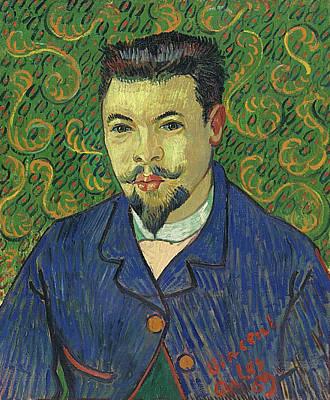 Gentleman Painting - Portrait Of Doctor Felix Rey by Vincent van Gogh