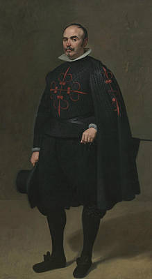 Painting - Portrait Of Don Pedro De Barberana by Diego Velazquez