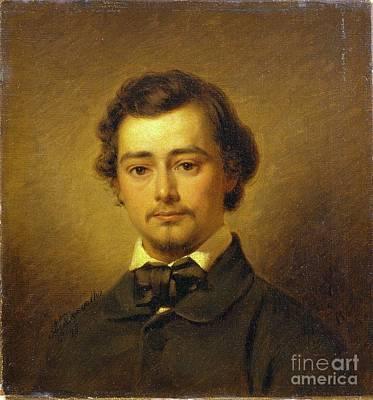 Painting - Portrait Of Dr. David Camden De Leon by Celestial Images