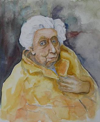 Portrait Of Eudora Welty   Original by Dan Earle