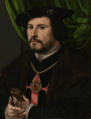 Painting - Portrait Of Francisco De Los Cobos Y Molina by Jan Gossaert
