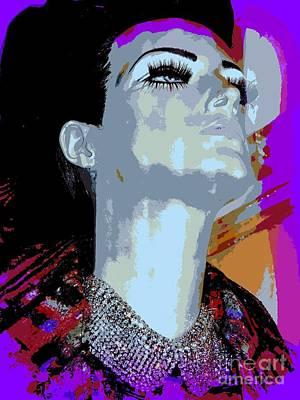 Digital Art - Portrait Of Giselle by Ed Weidman