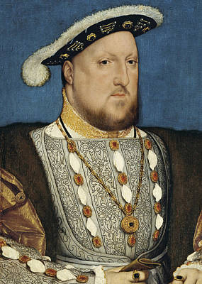 Painting - Portrait Of Henry Viii Of England  by Hans Holbein the Younger