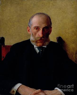 Painting - Portrait Of Isidor Gewitsch by Celestial Images