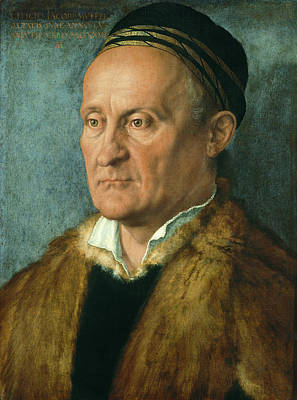 Painting - Portrait Of Jakob Muffel  by Albrecht Durer