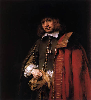 Sir Painting - Portrait Of Jan Six by Rembrandt van Rijn