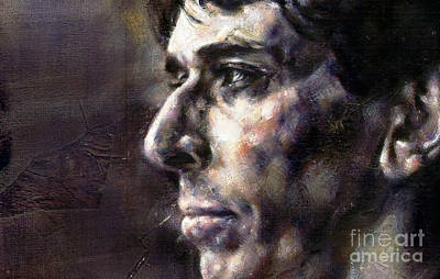 Painting - Portrait Of John Cale by Ritchard Rodriguez