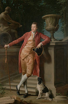 Late 18th Century Painting - Portrait Of John Talbot, Later 1st Earl Talbot by Pompeo Batoni