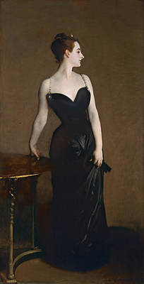 Portrait Of Madame Gautreau Art Print by John Singer Sargent