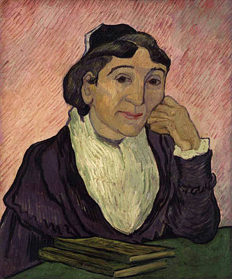 Book Painting - Portrait Of Madame Ginoux, L'arlesienne by Vincent van Gogh