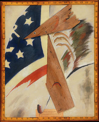 Abstract American Flag Painting - Portrait Of Ralph Dusenberry by Arthur Dove