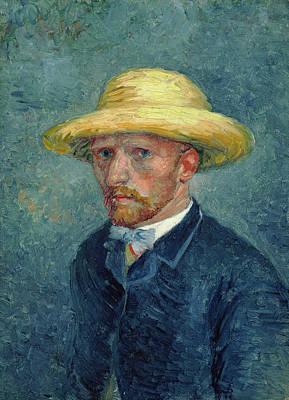 Vincent Painting - Portrait Of Theo Van Gogh by Vincent van Gogh