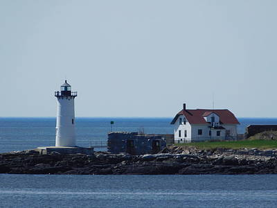 Photograph - Portsmouth Lighthouse by Catherine Gagne