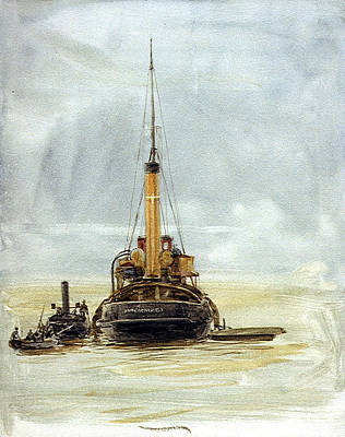 Enterprise Painting - Portsmouth by William Lionel