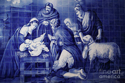 Portuguese Azulejo Tiles Art Print by Gaspar Avila