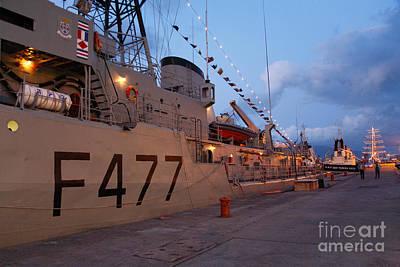 Portuguese Navy Frigates Art Print
