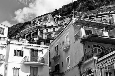 Photograph - Positano Dimensions by John Rizzuto