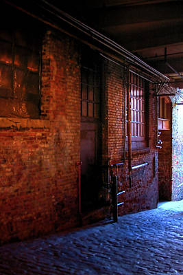 Seattle Photograph - Post Alley East Wall by David Patterson