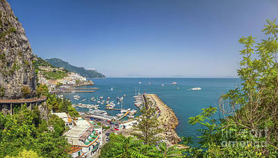 Photograph - Postcard From Amalfi by JR Photography