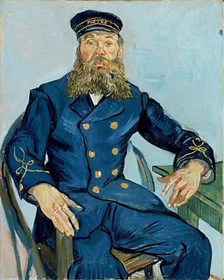 Painting - Postman Joseph Roulin by Vincent Van Gogh