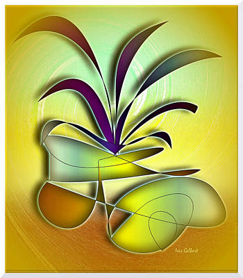 Digital Art - Potted by Iris Gelbart