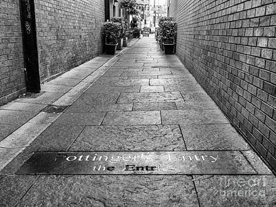 Photograph - Pottinger's Entry, Belfast by Jim Orr