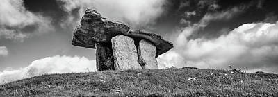 Photograph - Poulnabrone Dolmen by Martina Fagan