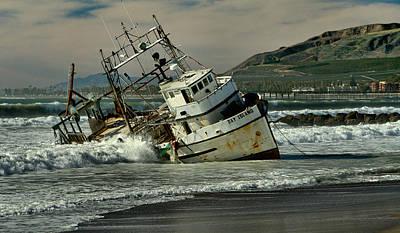 Photograph - Pounding Surf by Michael Gordon