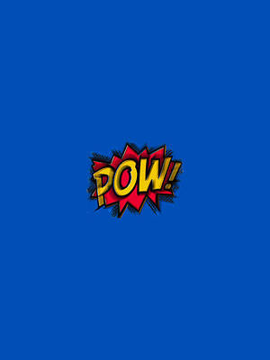 Painting - Pow by Tony Rubino
