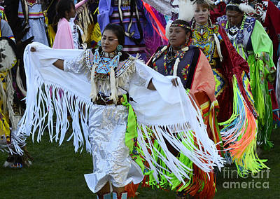 Fancy-dancer Photograph - Pow Wow Beauty Of The Past 13 by Bob Christopher