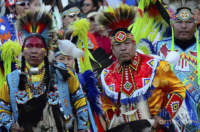 Fancy-dancer Photograph - Pow Wow Beauty Of The Past 8 by Bob Christopher