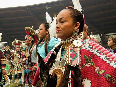 Photograph - Pow Wow Celebration No 11 by David Smith