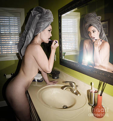 Powder Room Sinks Photograph - Powder Room 2 by Jt PhotoDesign