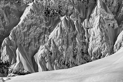 Photograph - Powder by Ted Raynor