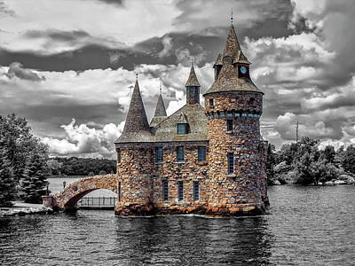 Photograph - Power House Of The Boldt Castle On Ontario Lake, Canada by Elenarts - Elena Duvernay photo