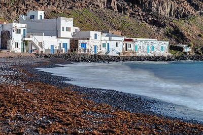 Antigua Photograph - Pozo Negro - Fuerteventura by Joana Kruse