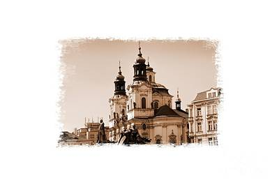 Photograph - Old Memories Of Prague by Brenda Kean