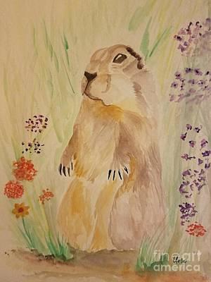 Painting - Prairie Life by Maria Urso