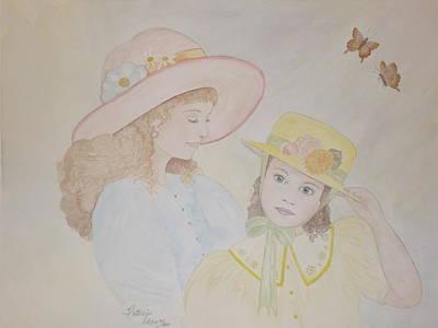 Prairie Sun Hats Art Print by Patti Lennox