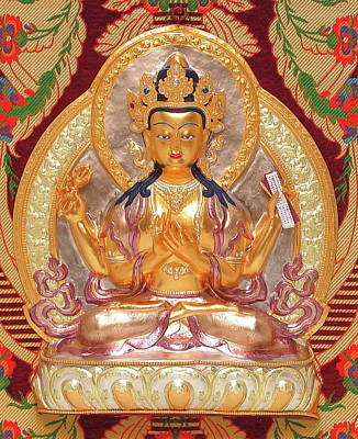Sculpture - Prajnaparamita by Martin Walker-Watson Gilding Arts Studio