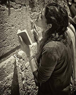 Eyal Photograph - Prayer by Eyal Nahmias