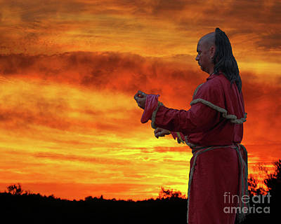 Prayer Warrior Digital Art - Prayer To The Master Of Life by Randy Steele