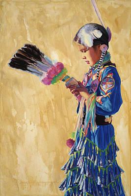 Painting - Prayer Walk by Christine Lytwynczuk