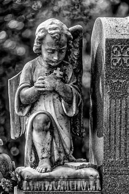 Photograph - Praying Angel by Garry Gay