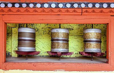 Photograph - Praying Wheels by Alexey Stiop